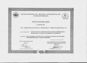 Diploma estudio DMT Murcia2